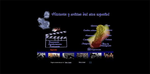 Historia y critica del cine español
