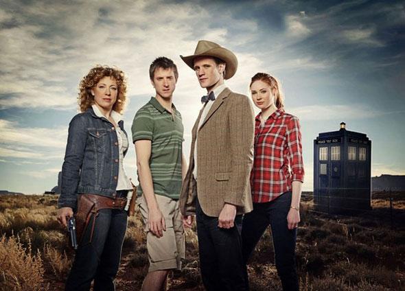 El Cast del Doctor Who para la sexta temporada