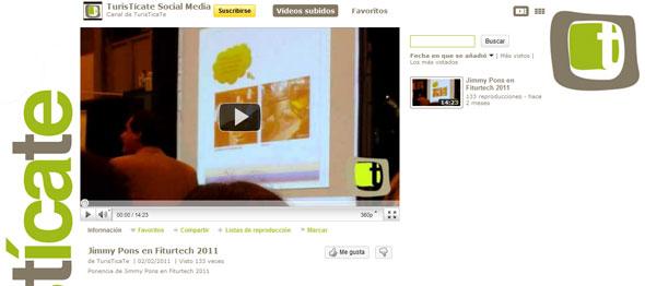 Canal Youtube de TurisTícaTe