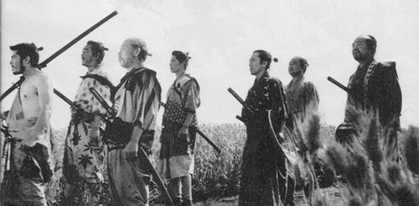 Siete Samurais pasan por la turmis