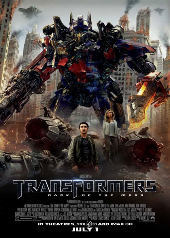 Transformers 3 póster