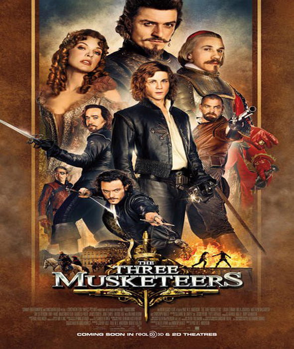 Poster De los 3D Mosqueteros
