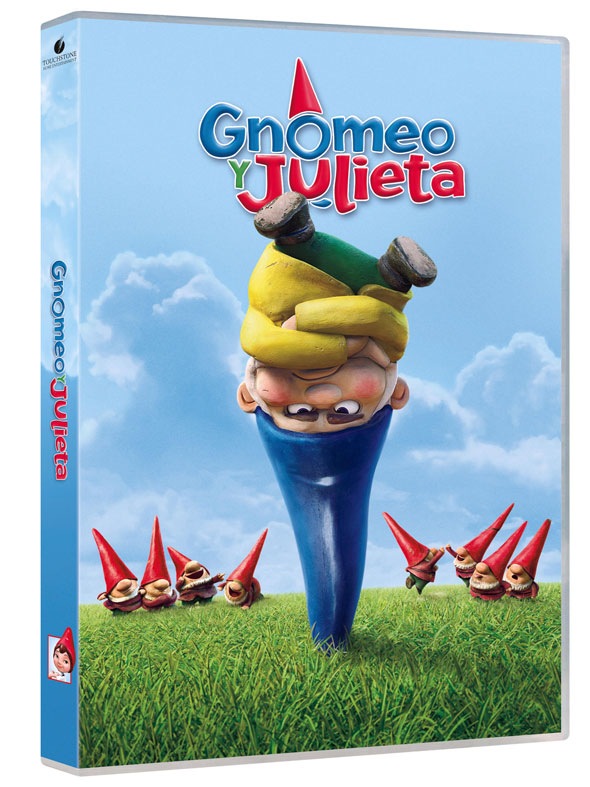 Gnomeo y Julieta DVD