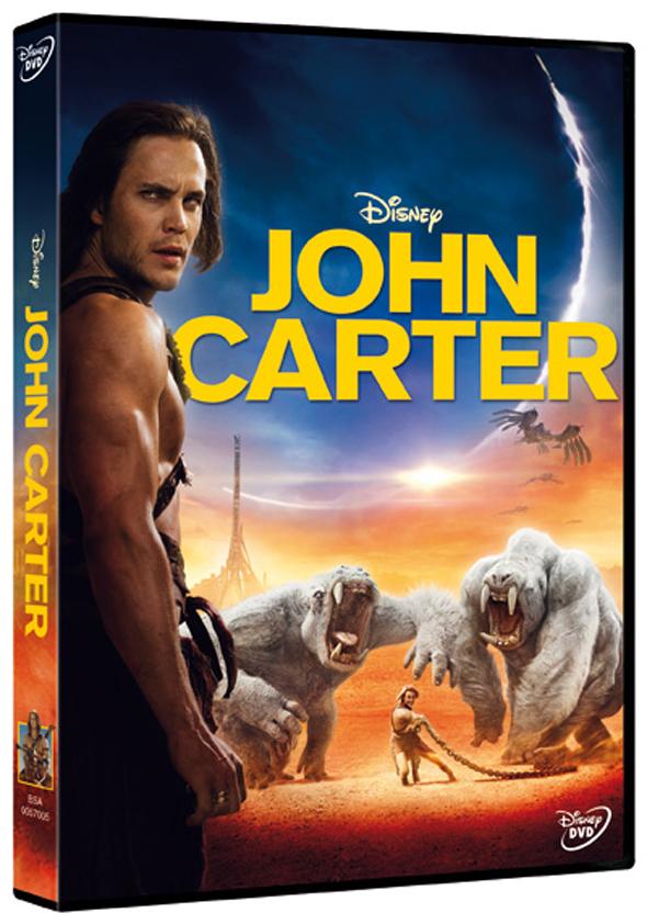 John Carter en DVD y Blu-Ray el 29 de Junio