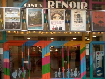 Cines Renoir tres euros carrusel