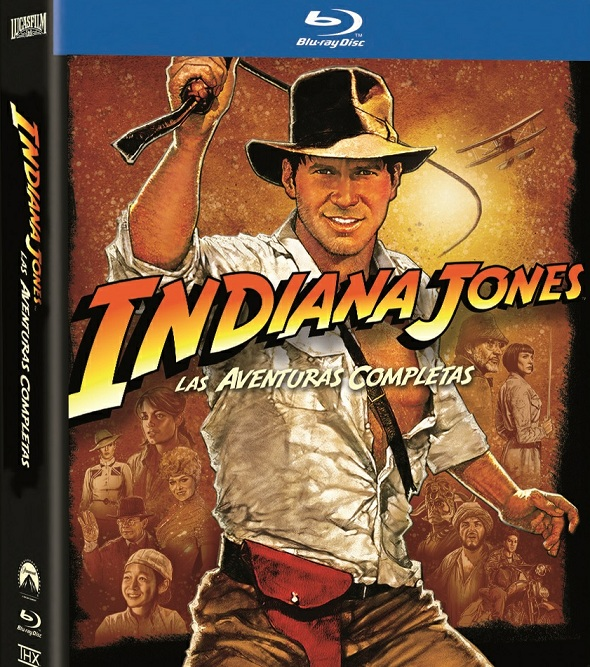 Indiana Jones en Blu-ray Interior