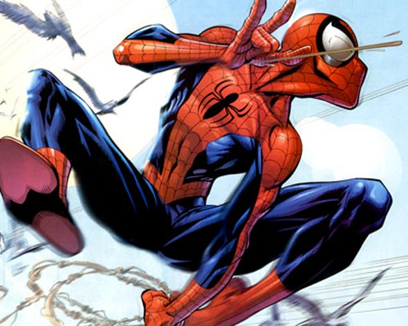 Ultimate Spider-man interior