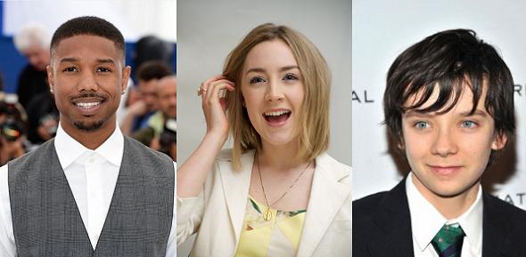 Michael B. Jorda, Saoirse Ronan y Asa Butterfield