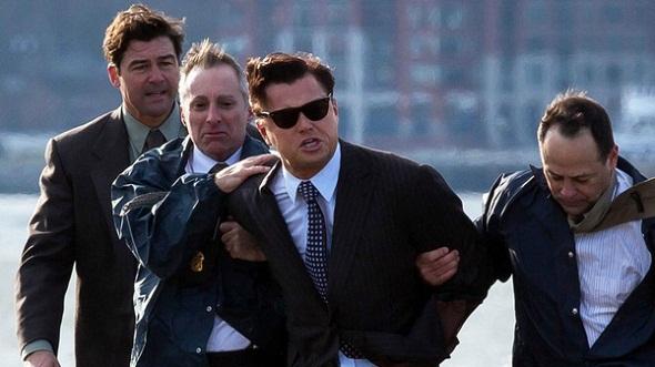 Leonardo DiCaprio en problemas en 'El lobo de Wall Street'