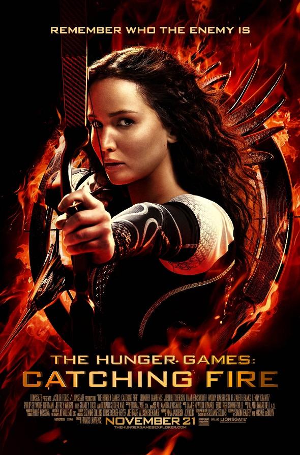 Poster de 'Los juegos del hambre: En llamas'