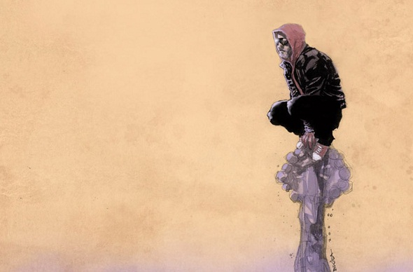 Boceto de storyboard de 'Prodigy-man'
