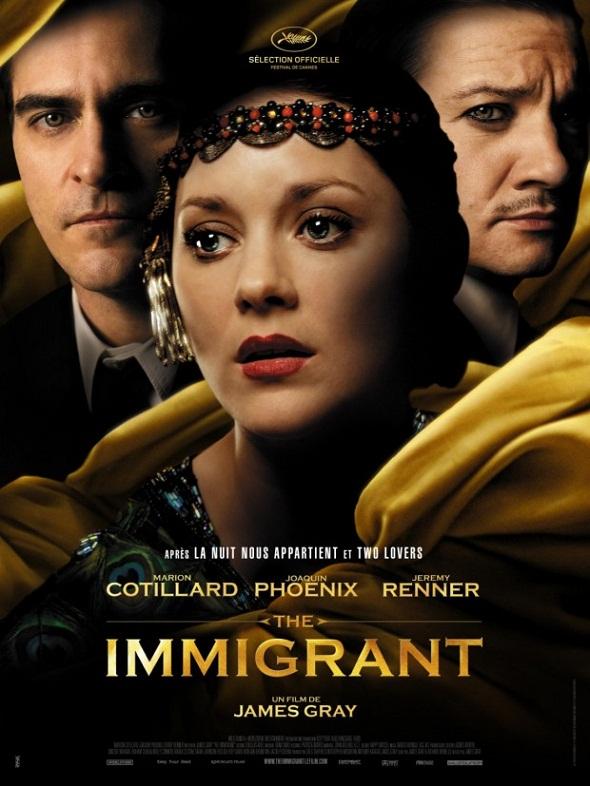 Poster de 'The inmigrant'