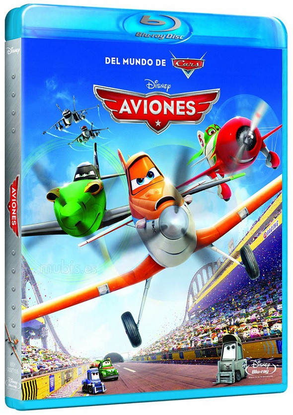 Aviones. Blu-ray