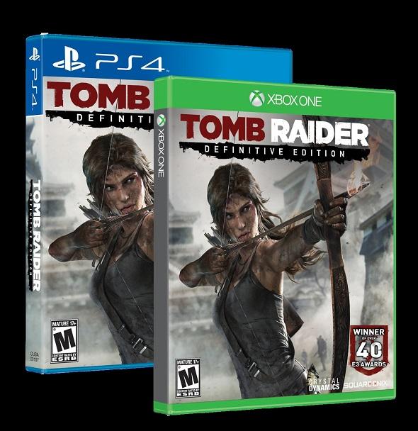Tomb Raider. Edición PS4 y Xbox One