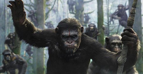 'Amanecer del planeta de los simios'