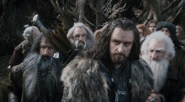 Thorin a la cabeza de los enanos en 'El Hobbit: La desolación de Smaug'