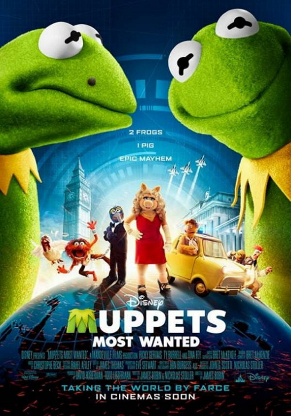 El tour de Los Muppets (Muppets Most Wanted)