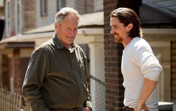 Sam Shepard y Christian Bale en 'Out of the furnace'