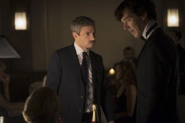 Fotograma de la 3ª temporada de 'Sherlock'