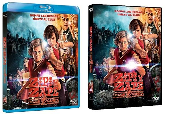 Ediciones BD y DVD de Zipi y Zape.