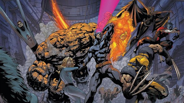 Fantastic Four VS. X-Men
