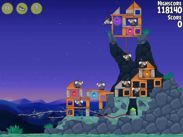 Angry Birds Rio Rocket Rumble