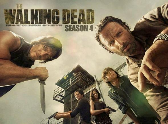 Nuevo avance para la cuarta temporada de \'The walking dead\'!|Noche ...