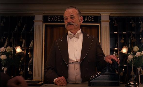 Bill Murray en 'El Gran Hotel Budapest'