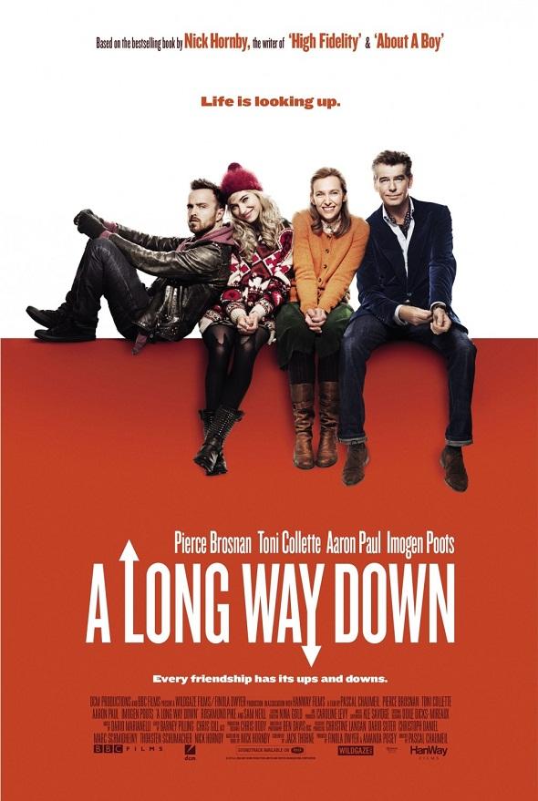 Póster de 'A long way down'