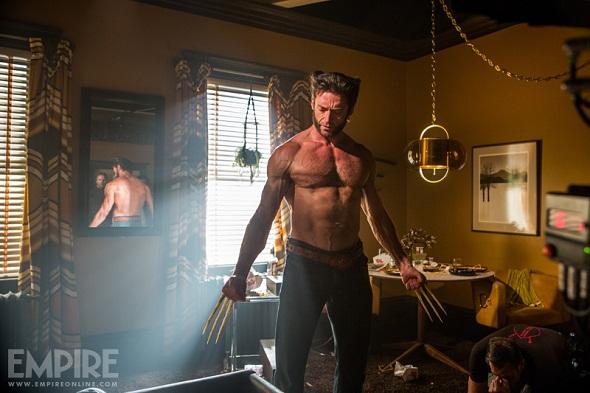 Hugh Jackman como Lobezno en 'X-Men: Días del futuro pasado'