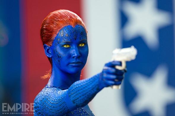 Jennifer Lawrence como Mística en 'X-Men: Días del futuro pasado'