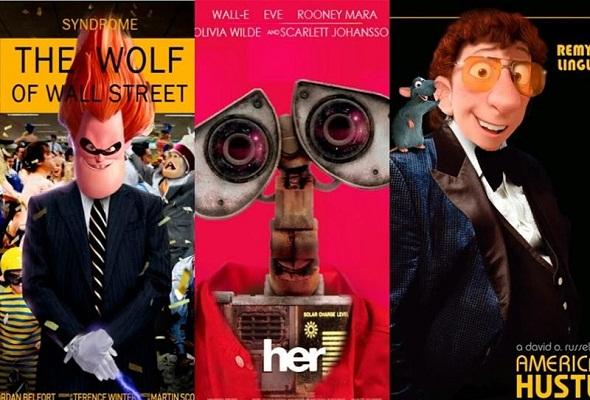 Ediciones especiales de pósteres de Pixar para los Oscar