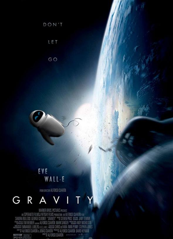 Póster de Pixar para 'Gravity'