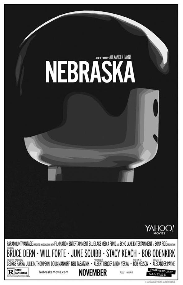 Póster de Lego para 'Nebraska'
