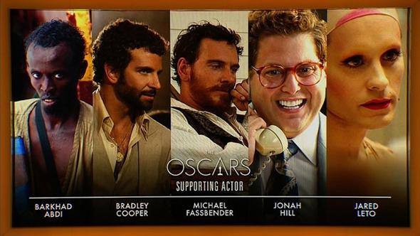 Los nominados al Oscar al mejor actor de reparto en 2014