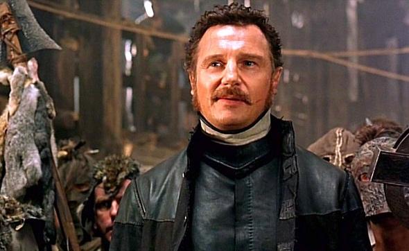 Liam Neeson en 'Gangs of New York'