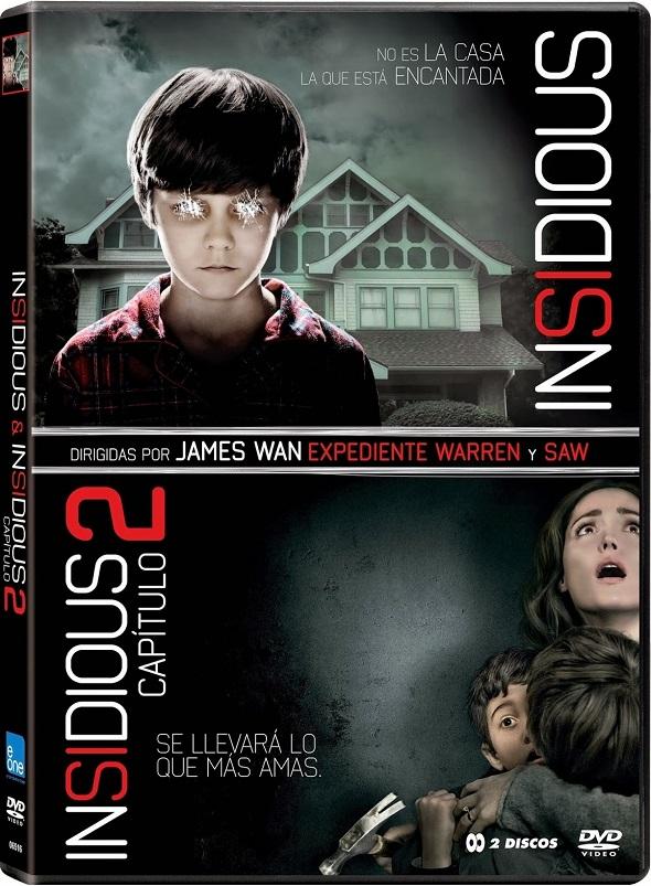 Edición especial Insidious en DVD.