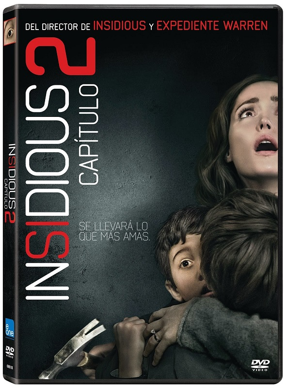 Insidious. Capítulo 2. DVD.
