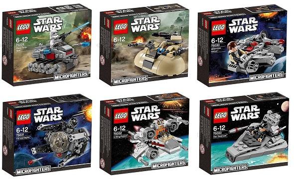 Microfighters LEGO