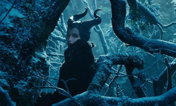Malvada Angelina Jolie en 'Maléfica'