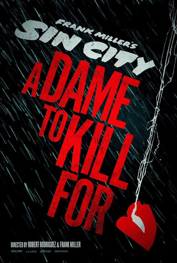 Póster de 'Sin City: A dame to kill for'