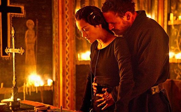 Marion Cotillard y Michael Fassbender en 'Macbeth'
