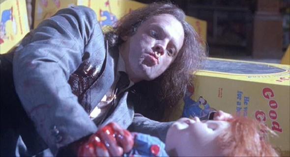 Brad Dourif en El muñeco diabólico