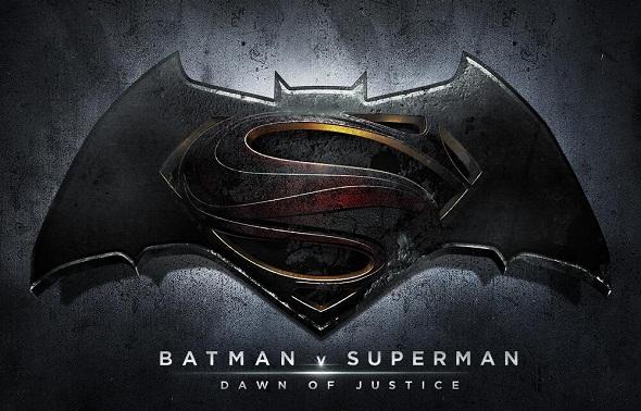 Logo oficial de 'Batman v Superman: Dawn of Justice'