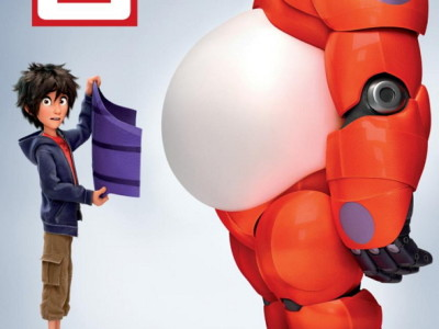 Big Hero 6. Póster.