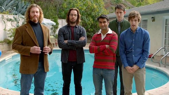 Protagonistas de la serie 'Silicon Valley'