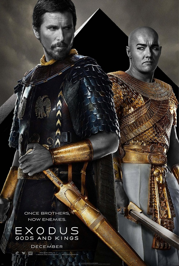 Primer póster de 'Exodus: Gods and kings'