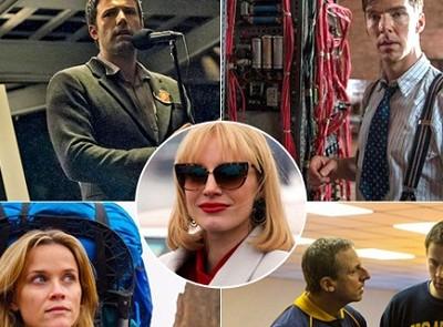 Algunos de los favoritos para los próximos Oscar