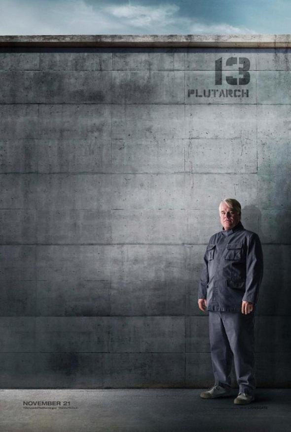 Póster de Plutarch Heavensbee/ Philip Seymour Hoffman