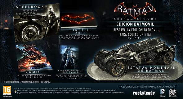 Batman: Arkham Knight Edición Batmóvil
